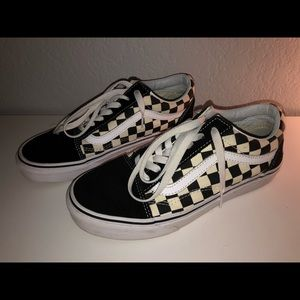 Checkered Classic Vans